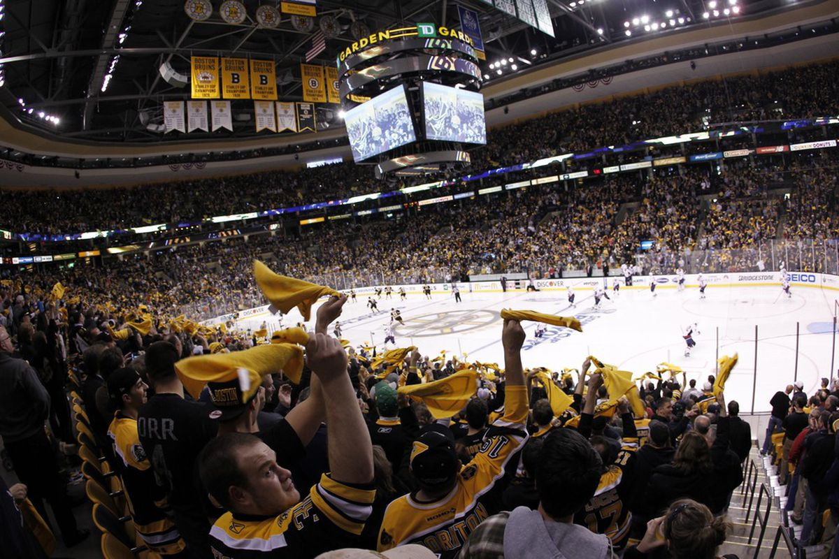boston bruins stadion td garden