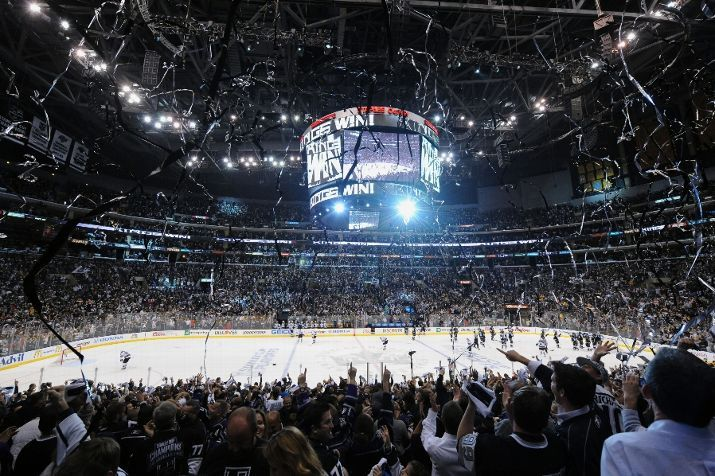 la kings staples center