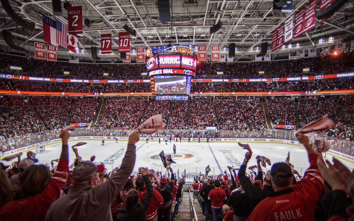 carolina hurricanes pnc arena