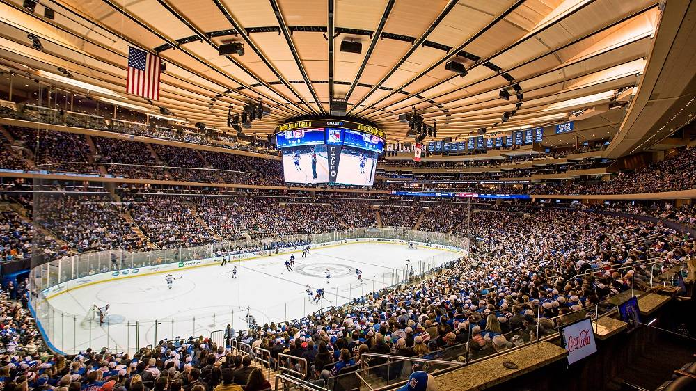 new york - madison square garden - nhl